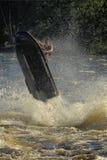 Dives Man on jet-ski Royalty Free Stock Image