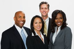 Divese group of business people. Royalty Free Stock Photography