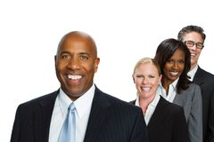Divese group of business people. Royalty Free Stock Images