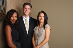 Divese group of business people. Royalty Free Stock Image