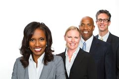 Divese group of business people. Stock Photography