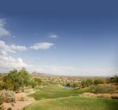 Divets auf Stückbereich des populären Arizona-Kurses Stockfotografie
