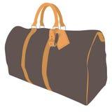 Diviértase el ruksack del bolso, petate, o se divierte el equipaje aislado en un fondo blanco libre illustration