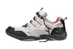 Diviértase el zapato del senderismo Foto de archivo