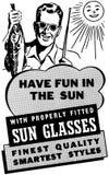 Diviértase en The Sun Fotos de archivo libres de regalías