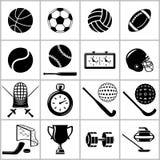 Diviértase los iconos fijados Imágenes de archivo libres de regalías