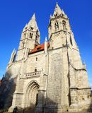 Divi在Muehlhausen的Blasii Kirche。 免版税库存照片
