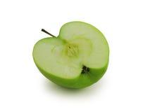divide яблока наполовину сочный стоковое фото rf