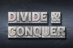 Free Divide And Conquer Den Royalty Free Stock Photography - 195817297