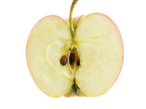 Divided apple Royalty Free Stock Image