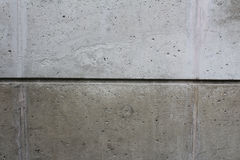 Divided concrete wall Stock Photos