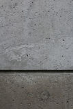 Divided concrete wall Stock Image