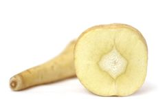 Divided Organic Parsley Root Stock Images
