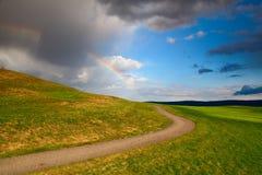Divided rainbow Royalty Free Stock Image