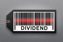 Dividend barcode