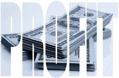 dividendi fotografia stock
