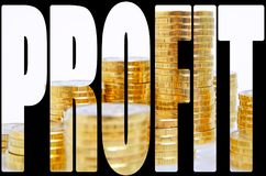 dividendi immagine stock