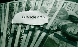 Dividends payment Stock Photos