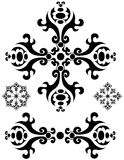 Dividers decorations ornaments royalty free stock photo