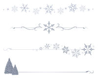 dividers płatek śniegu Obraz Stock