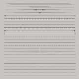 Dividers and Seperators Royalty Free Stock Image