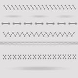 Dividers Royalty Free Stock Photography