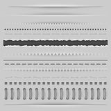 Dividers template Royalty Free Stock Image