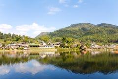 Divieto Rak tailandese (il villaggio verde tailandese) Immagini Stock Libere da Diritti