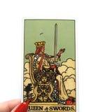 Divination καρτών Tarot απόκρυφος μαγικός στοκ εικόνες
