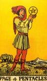 Divination καρτών Tarot απόκρυφος μαγικός στοκ φωτογραφία
