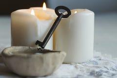 Divination του κεριού στοκ φωτογραφία με δικαίωμα ελεύθερης χρήσης