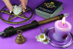 Divination stock photo