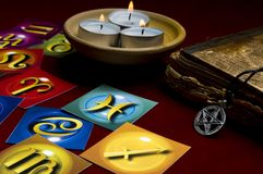Divination esotérico Foto de Stock