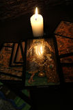 Divination par le tarot Images libres de droits