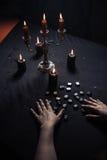 Divination par les runes magiques Photo libre de droits