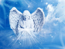 Divine angel Stock Image
