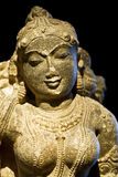 Divine beauty. (ancient hindu statue royalty free stock photography
