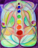 Divine Chakras Fine Art Royalty Free Stock Images