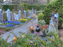 Divine colorful graveyard (3) royalty free stock image