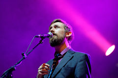 The Divine Comedy (band) live performance at Bime Festival Royalty Free Stock Photos