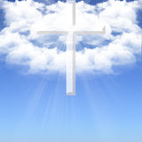 The Divine Cross-2 Royalty Free Stock Photo
