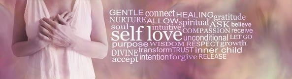 Free Divine Feminine Self Love Word Cloud Royalty Free Stock Photography - 193768457