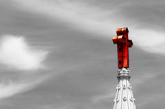 The Divine holy Cross Stock Photo