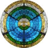 Divine il cerchio Immagine Stock