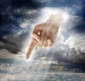 Divine Intervention Stock Photography