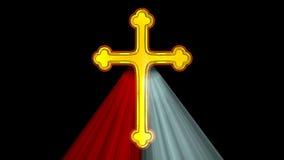 Divine Mercy Cross stock video footage