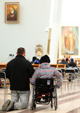 The Divine Mercy Sanctuary Stock Photo