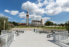 The Divine Mercy Sanctuary in Lagiewniki; Cracow; Royalty Free Stock Photos
