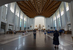 The Divine Mercy Sanctuary in Lagiewniki; Cracow Stock Photography