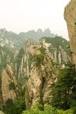 Divine mountain landscape in china Stock Image